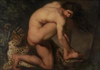 """Un tableau, une Histoire [n°17]  """"Le petit orteil dans la putain de table basse"""""""