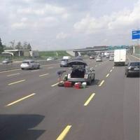 L'endroit idéal pour changer un pneu