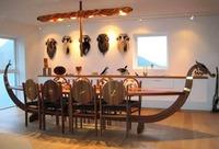 Table drakkar viking