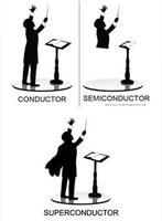 """Chef d'orchestre, en anglais, se dit """"conductor""""..."""
