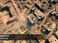 Un drone filme les combats en Syrie