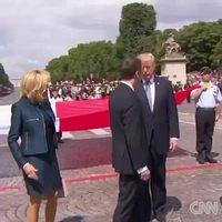 Depuis la photo de la poignée de mains Macron-Trump...