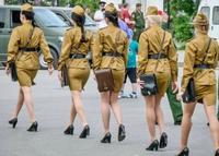 Femmes-soldats russes