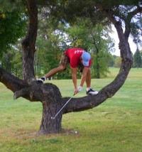 Figure au golf