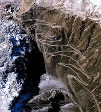 Le col Stelvio (2757 m) en Italie