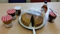 J'ai fait des crêpes pour mes collègues anglais...