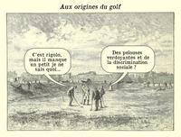 Aux origines du golf
