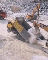 Comment charger un gros caillou