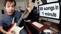 30 sons en un medley d'une minute en guitare