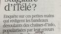Qui es-tu stagiaire de Libération ?
