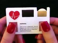 La carte de visite du cœur !