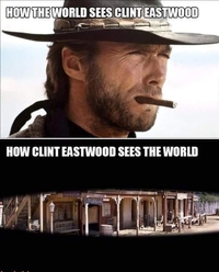 Comment le monde voit Clint...