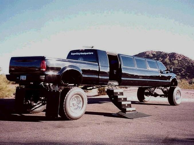 Une limousine pas comme les autres...