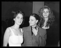 Trois actrices en 1989