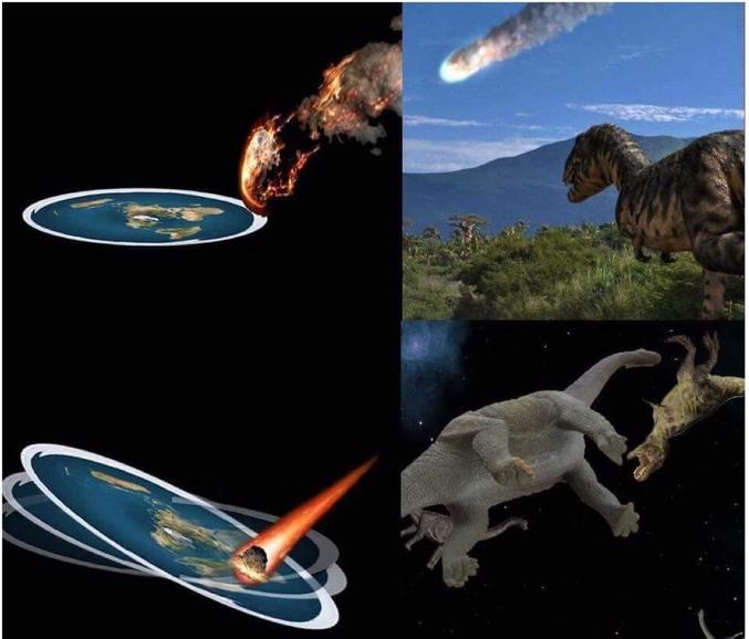 C'était bien une météorite.