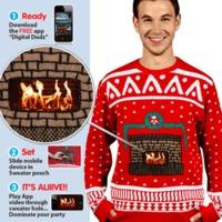 Un pull de Noël bien chaud
