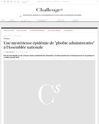 """Une mystérieuse épidémie de """"phobie administrative"""" à l'Assemblée nationale"""