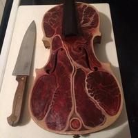 Quand le violon se met à table