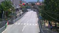 Carambolage en coupe du monde FIA des voitures de tourisme