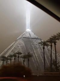 Las Vegas sous la neige