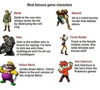 Mes personnages de JV préférés