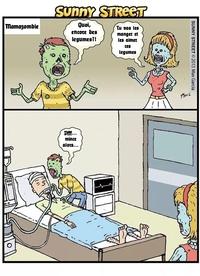 Zombies Vegans