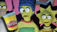 Le 'couch gag' des Simpsons en version ultragore
