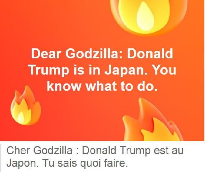 Le Président américain est en visite officielle au Japon depuis hier.