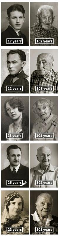Des centenaires
