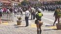 Après la police montée, voici la police gonflée