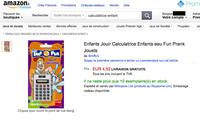 Une calculatrice pour faire jouir les enfants