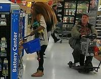Sonic IRL au supermarché