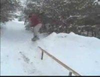 Slide en snowboard
