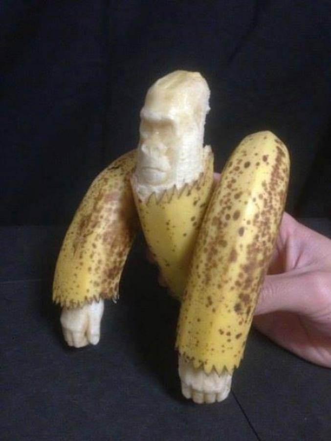 Donc celui qui se régale de bananes est un ... ?