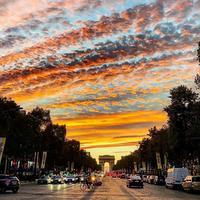 Joli ciel de Paris
