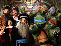 Artistes VS Tortues Ninja