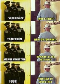 Intervention policière