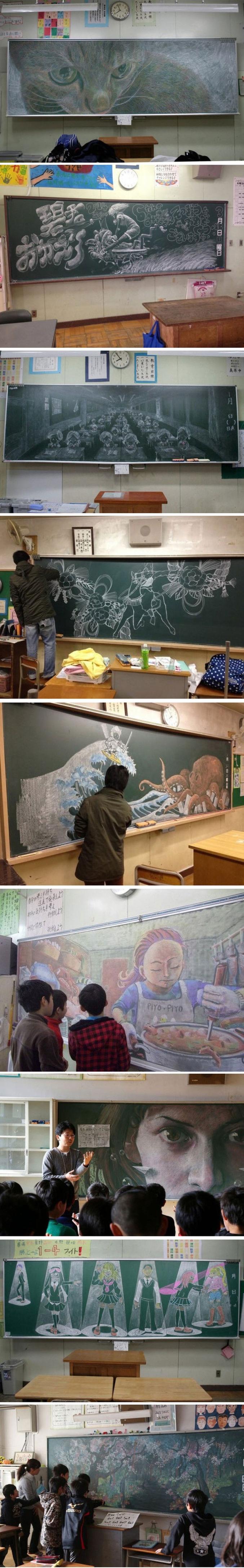 L'école de l'art.