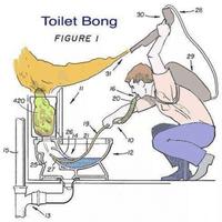 WC bong