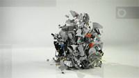 LEGO : Destruction de l'étoile de la mort