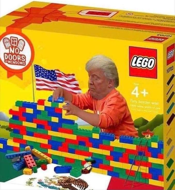...quant à savoir s'il utilisera des moyens Lego pour cela ????