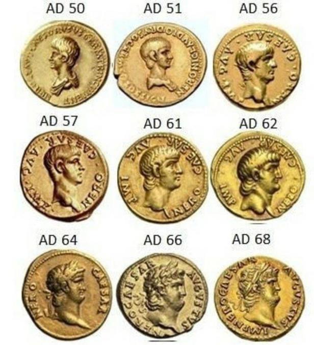 L'empereur Neron au fil du temps