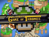 Game of thrones dans le monde de mario
