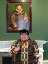 Cosplay Henry VIII