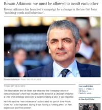 Rowan Atkinson, ce génie.