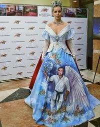 La robe d'une mariée russe