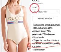 Maillot Gucci