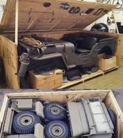 Jeep d'époque en kit