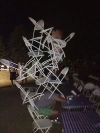Chateau de chaises