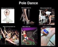 Le pole dance et les gens